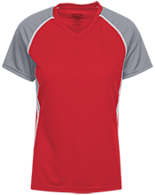 Red Mesa High School Redskins Ladies SS Raglan Dri-Gear Wicking Jersey
