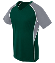 Mainland Regional HS Mustangs Girls Short Sleeve Wicking Jersey
