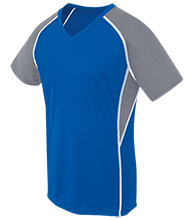 Lewiston High School Blue Devils Girls Short Sleeve Wicking Jersey