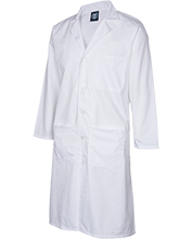 Johnson College Prep Pumas Custom Embroidered 43 inch Long Labcoat