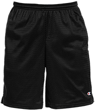 Buffalo County District 16 School Black Panthers Champion 9-inch Mesh Short with Pockets