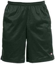 Klamath Falls SDA School Mustangs Champion 9-inch Mesh Short with Pockets