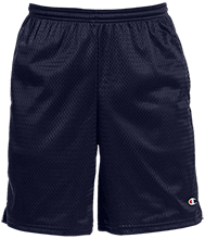 Tecumseh Junior Senior High School Braves Champion 9-inch Mesh Short with Pockets