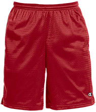 Hoke County High School Bucks Champion 9-inch Mesh Short with Pockets