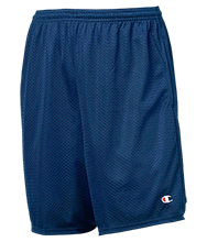 Lugoff Elementary School Counts Teddy Bears Champion 9-inch Mesh Short with Pockets