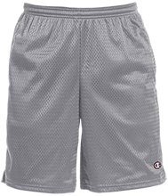 Grace Prep High School Lions Champion 9-inch Mesh Short with Pockets