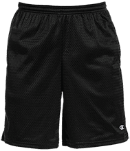 Meskwaki High School Warriors Champion 9-inch Mesh Short with Pockets