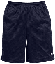 Del Val Wrestling Wrestling Champion 9-inch Mesh Short with Pockets