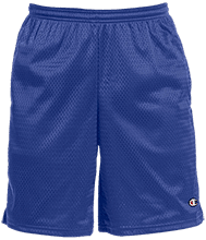 Shore Regional High School Blue Devils Champion 9-inch Mesh Short with Pockets
