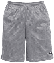 Bemis Intermediate Cats Champion 9-inch Mesh Short with Pockets