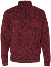 Design Yours J America Men's Cosmic Fleece 1/4 Zip