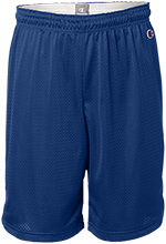 Sebring Middle School Sebring Blue Streaks Mens Pocketless Workout Shorts