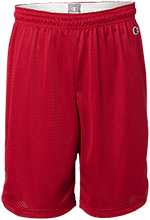 Saint Matthew Lutheran School Cardinals Mens Pocketless Workout Shorts