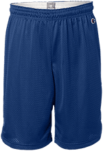 Alpha Elementary Mustangs Mens Pocketless Workout Shorts