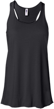 Carter Middle School Mustangs Bella+Canvas Flowy Racerback Tank