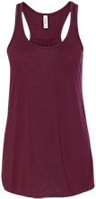 Avon Lake High School Shoremen Bella+Canvas Flowy Racerback Tank