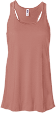 Shepherd Of The Valley Lutheran Bella+Canvas Flowy Racerback Tank