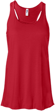 Katahdin High School Cougars Bella+Canvas Flowy Racerback Tank