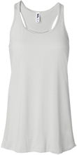 Cardinal Gibbons High School Crusaders Bella+Canvas Flowy Racerback Tank