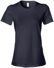 Lansing Eastern High School Quakers Anvil Ladies Lightweight Tshirt 4.5 oz