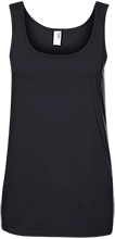 Breast Cancer Ladies 100% Ringspun Cotton Tank Top