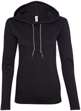 Western Middle School-Auburn Warriors Ladies LS T-Shirt Hoodie