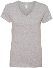 George Junior School Ladies V-Neck T-Shirt