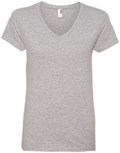Memorial Junior High School-Mentor School Ladies V-Neck T-Shirt
