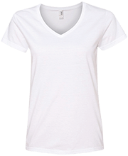 Manchester East Soccer Ladies V-Neck T-Shirt