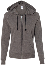Wadsworth Middle School Alternative Ladies French Terry Full Zip