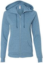Grandview Middle School Bulldogs Alternative Ladies French Terry Full Zip