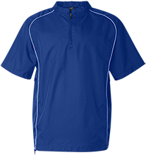 Renbrook School School Short Sleeve 1/4 zip Wind Shirt