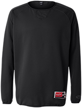 Saint Adalbert School Black Hawks Rawlings® Flatback Mesh Fleece Pullover