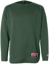 Alpena High School Wildcats Rawlings® Flatback Mesh Fleece Pullover