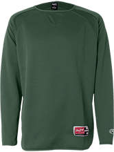 Christian Community School Warriors Rawlings® Flatback Mesh Fleece Pullover