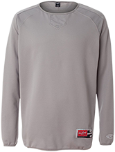 Baptist Temple School Tigers Rawlings® Flatback Mesh Fleece Pullover