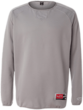 Merrywood Elementary School Mustangs Rawlings® Flatback Mesh Fleece Pullover