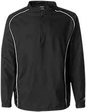 Saint Adalbert School Black Hawks 1/4 Zip Poly Pullover