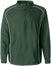 Pascagoula Opportunity Center Indians 1/4 Zip Poly Pullover