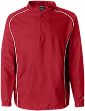 Brunswick Memorial Elementary School Mustangs 1/4 Zip Poly Pullover