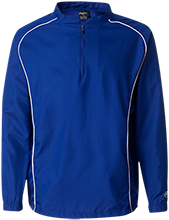 Saint Peter Lutheran School Braves 1/4 Zip Poly Pullover
