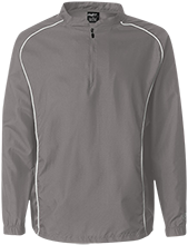 Baptist Temple School Tigers 1/4 Zip Poly Pullover