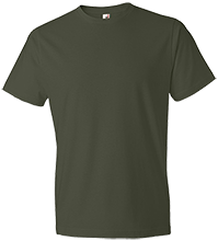 Rancho High Alumni Rams Anvil Lightweight Tshirt 4.5 oz