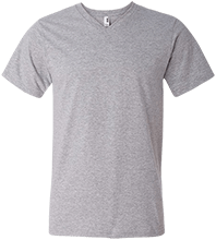 The Community School School Men's Printed V-Neck T