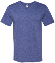 W T Francisco Elementary School Lions Men's Printed V-Neck T