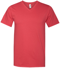 HTR Christian School Indians Men's Printed V-Neck T