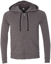 Baby Shower Alternative Men's French Terry Full Zip