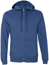 Findlay High School Trojans Alternative Men's French Terry Full Zip
