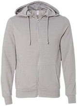Capital Christian School Conquers Alternative Men's French Terry Full Zip