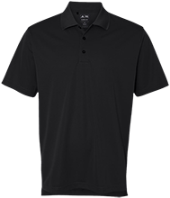 Rancho High Alumni Rams Adidas Golf ClimaLite® Basic Performance Pique Polo